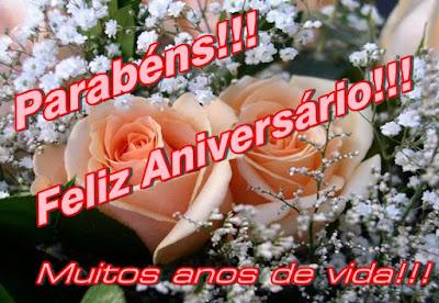 Parabéns - Feliz Aniversário