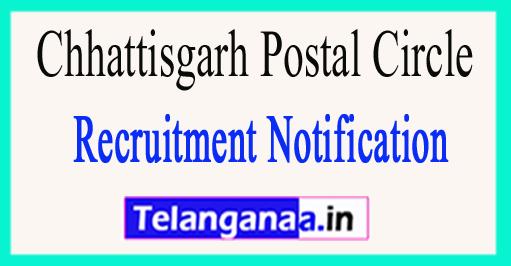 Chhattisgarh Postal Circle Recruitment Notification 2017