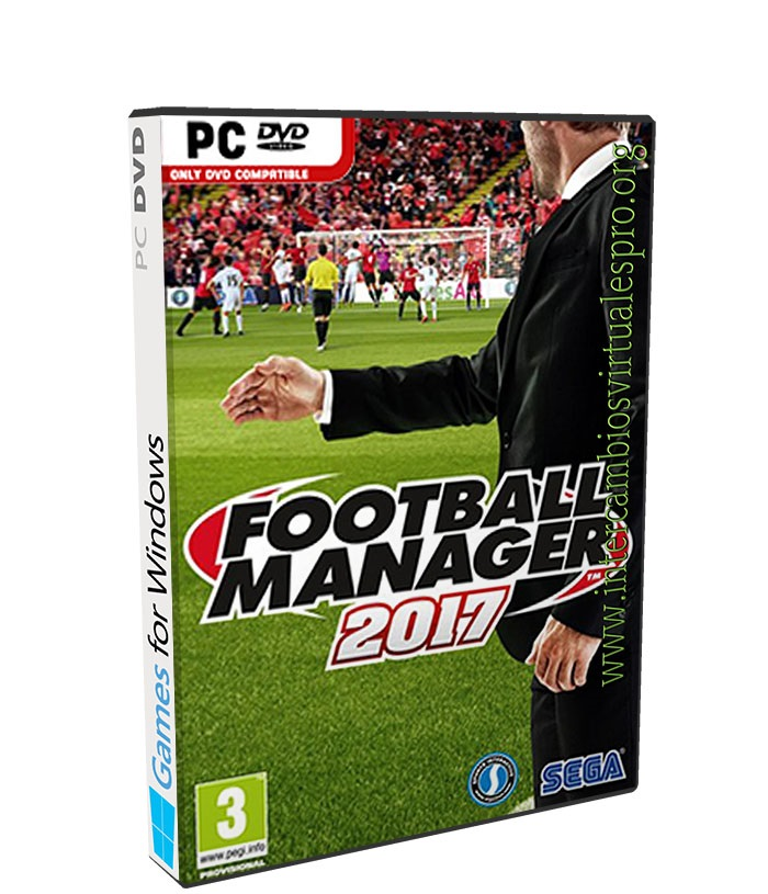 Football Manager 2017 poster box cover
