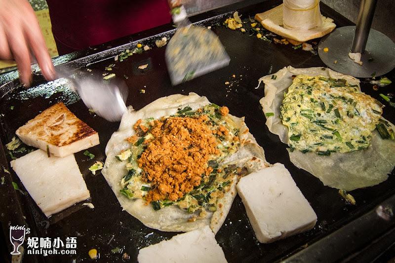 【台北內湖區】東湖阿枝早餐。必吃手工蛋餅接單接到怕