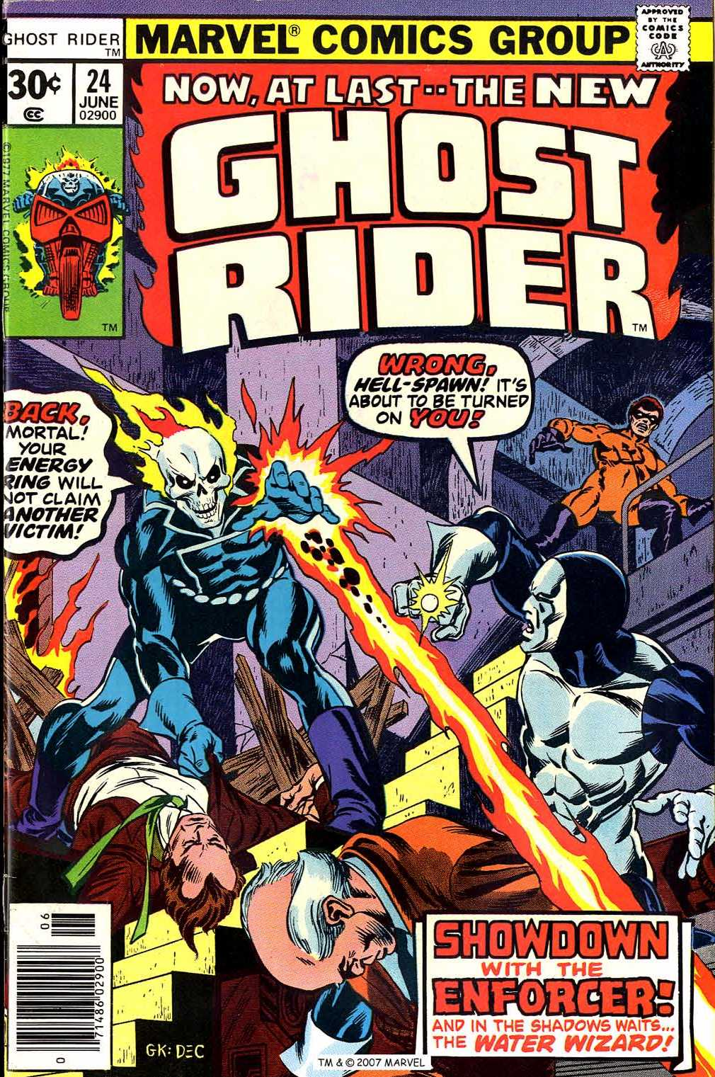 Ghost Rider (1973) Issue #24 #24 - English 1
