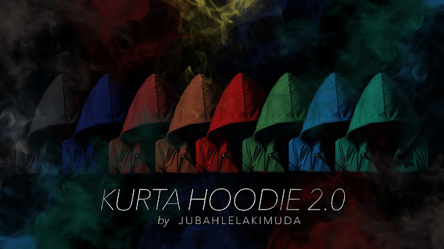 Kurta Hoodie 2.0 by Jubah Lelaki Muda