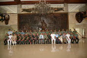Delegasi NDC India Kunjungi Kodam IX/Udayana.
