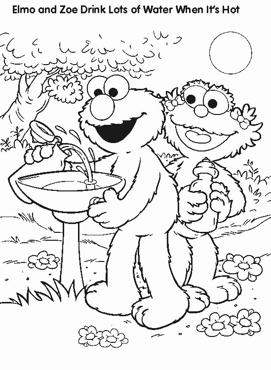 elmo coloring page - free coloring pages elmo coloring pages