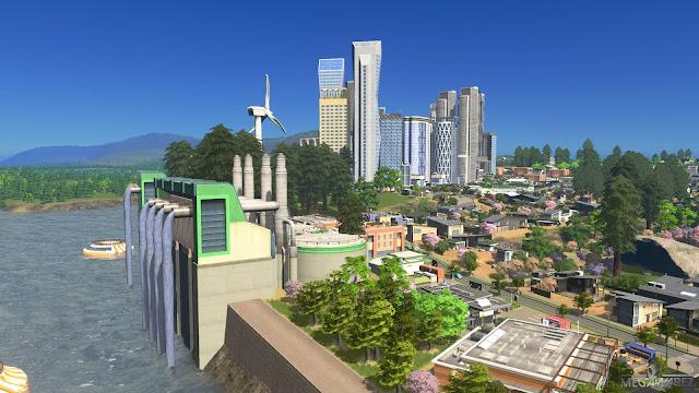 Cities Skylines Green Cities pc imagenes