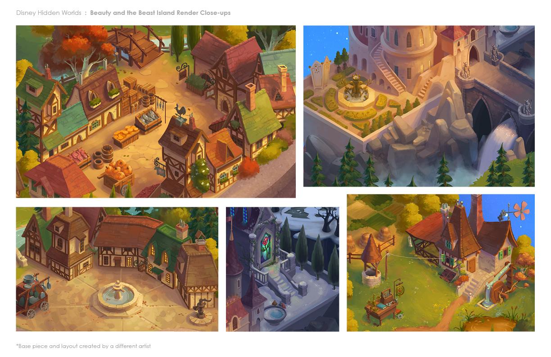 Melissa Kings Portfolio Disney Hidden Worlds  Hidden Objects Game