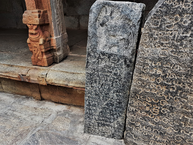 Inscriptions at Bhoga Nandeeshwara Temple