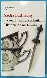 Portada del libro La matanza de Rechnitz, de Sacha Battyany