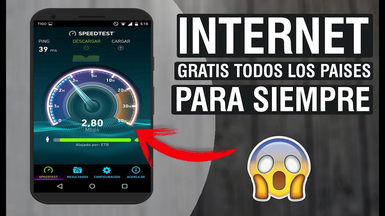 INTERNET GRATIS ANDROID ILIMITADO SIN ROOT SIN SALDO 100%