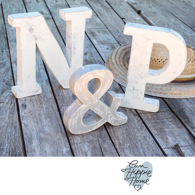 Artesanos de letras de madera: Can Hippie Home-4