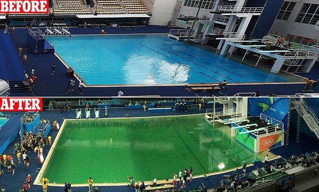 Rio Dive Pool 2016.