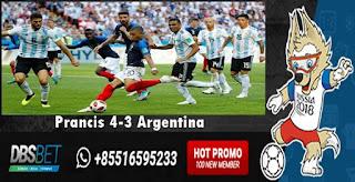 perancis 4-3 argentina piala dunia 30 juni 2018