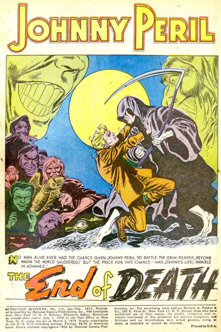 Read online Sensation (Mystery) Comics comic -  Issue #113 - 3