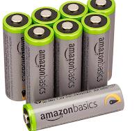 pile AmazonBasics Pile Ricaricabili
