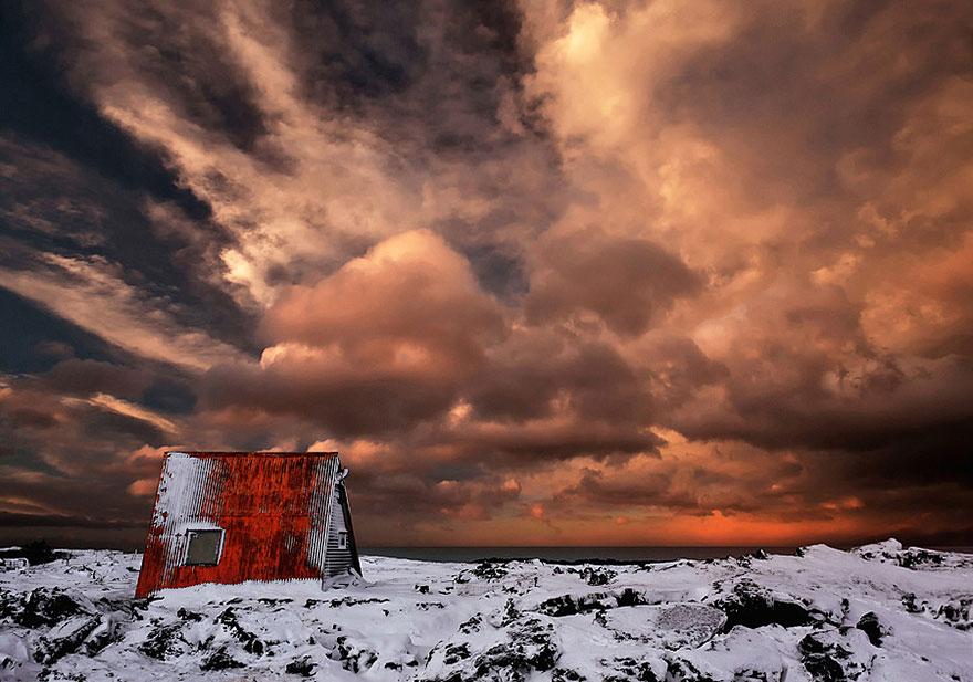 Abandoned Cabin,Iceland