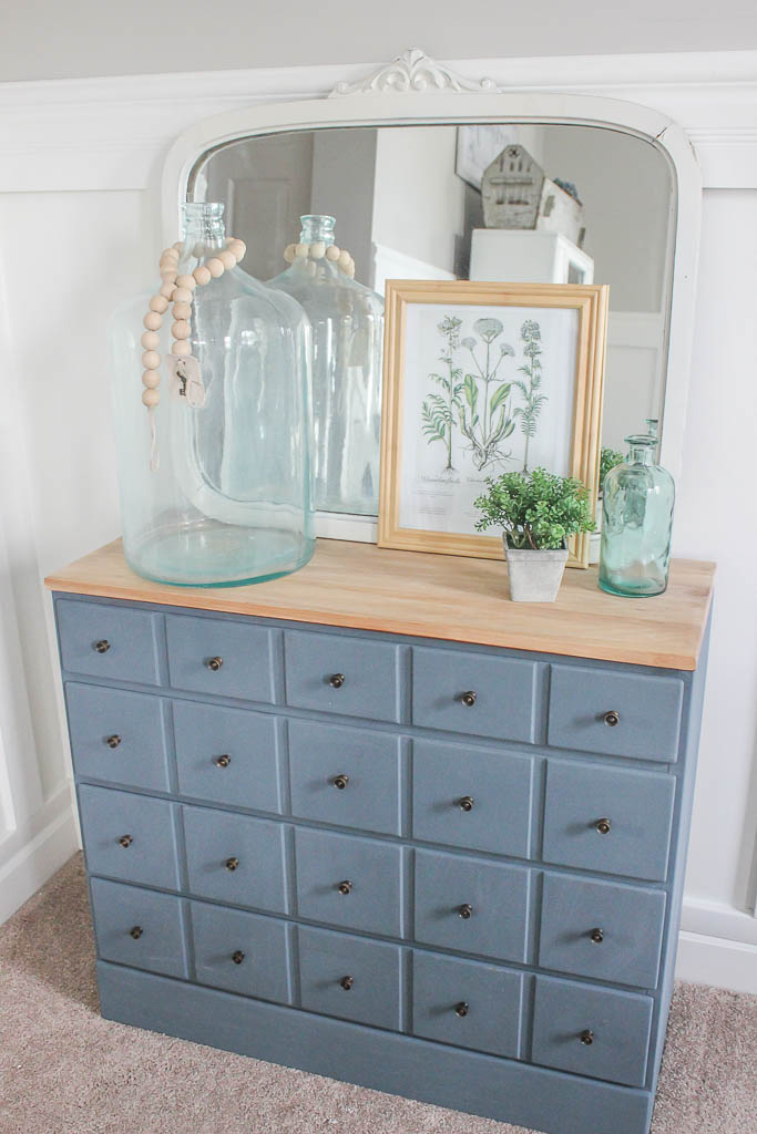 thrift store furniture makeover