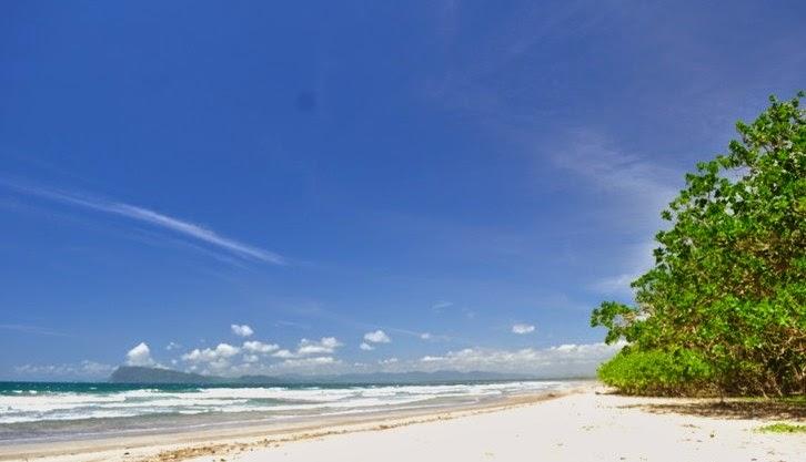 Pantai Trianggulasi, Taman Nasional Alas Purwo.