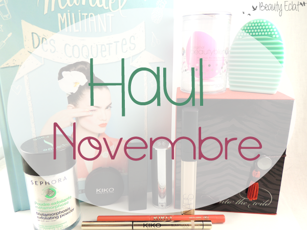 haul beaute sephora kiko laura mercier beautyblender