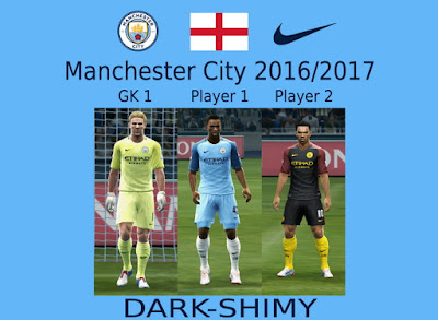 PES 2013 Manchester City 2016/2017 GDB by Dark Shimy