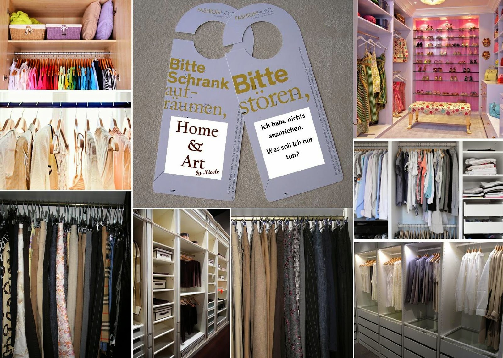 Wardrobe Organizer Home and Art
