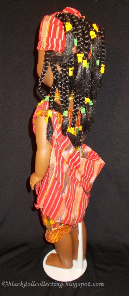 Black Doll Collecting Ashanti Keisha Joins Nefertiti Keisha