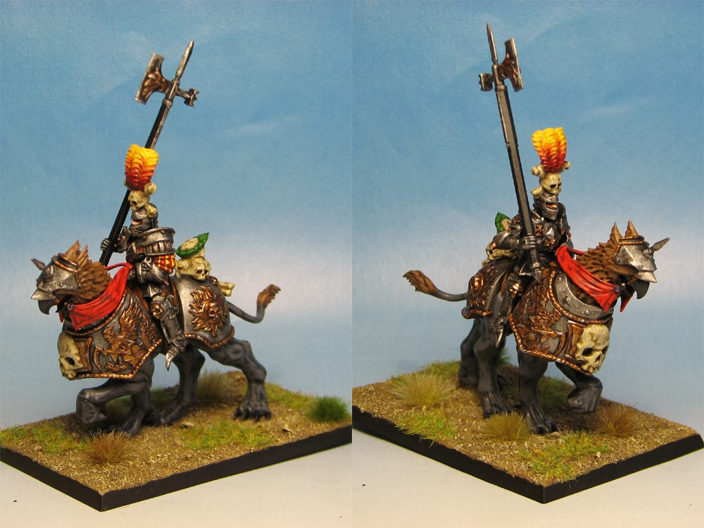 Warhammer-Empire-Chevaliers demi griffons-Bouclier KF