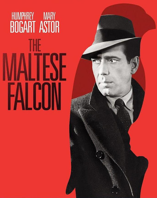 the maltese falcon, humphrey bogart, directed by john huston, 1941 film noir