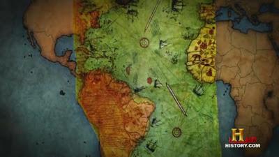 Peta Piri Reis sama persis dengan peta satelit