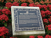 Walt Disney Studios Paris Dedication Plaque