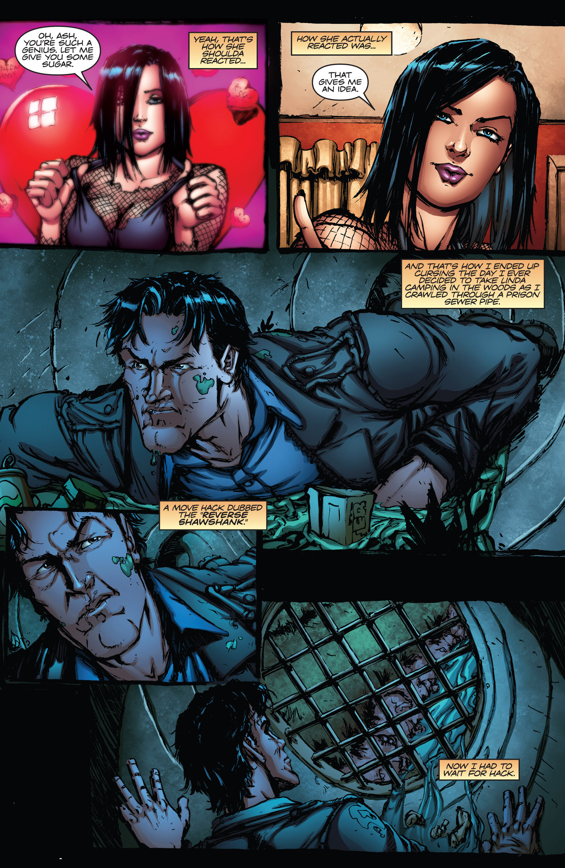 Read online Army of Darkness vs. Hack/Slash comic -  Issue #2 - 9