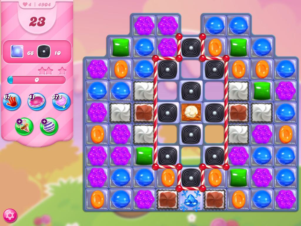Candy Crush Saga level 4904