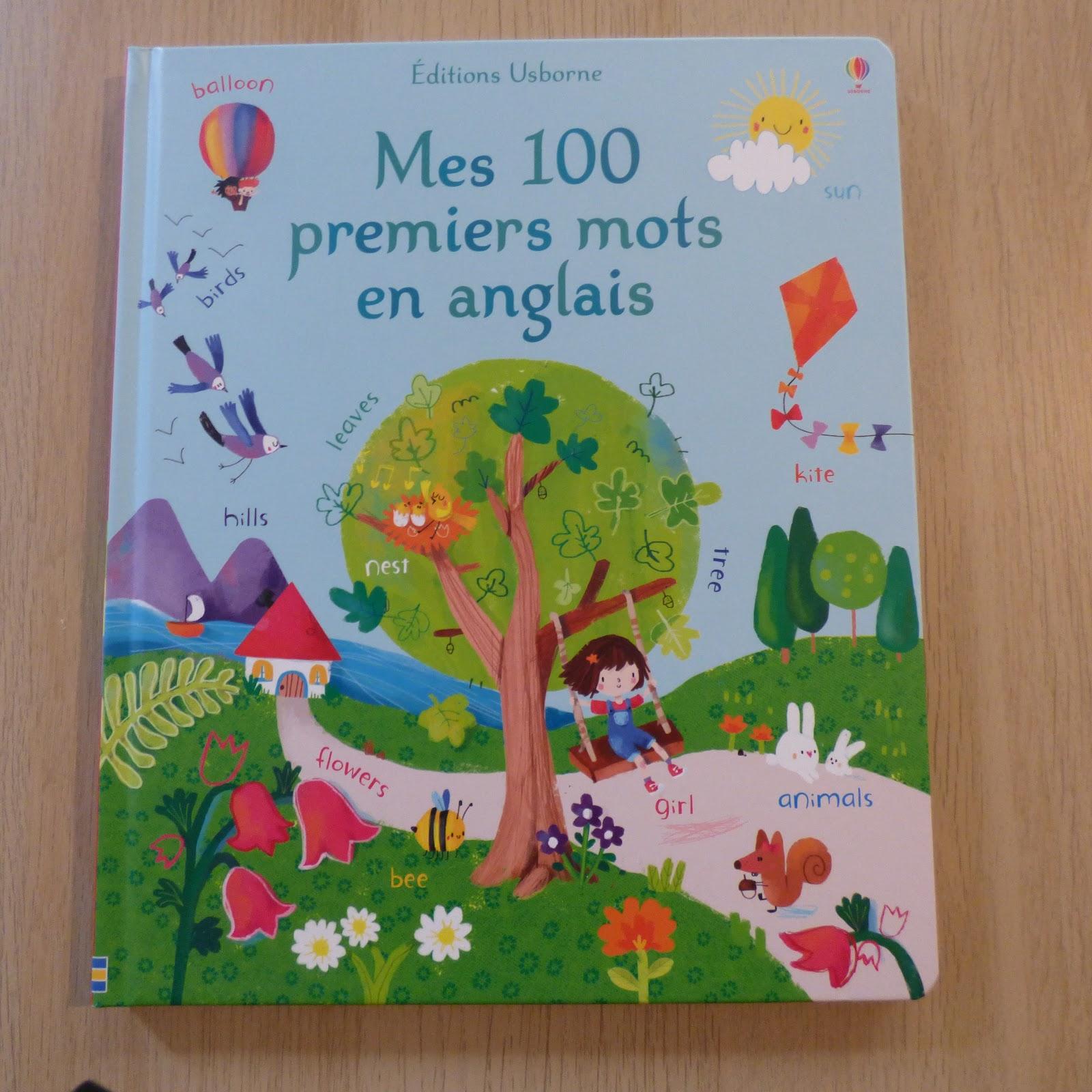 Mes 100 Premiers Mots En Anglais Petits Genies En Herbe