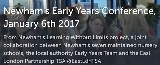 Newham's Early Years Conference, 2017