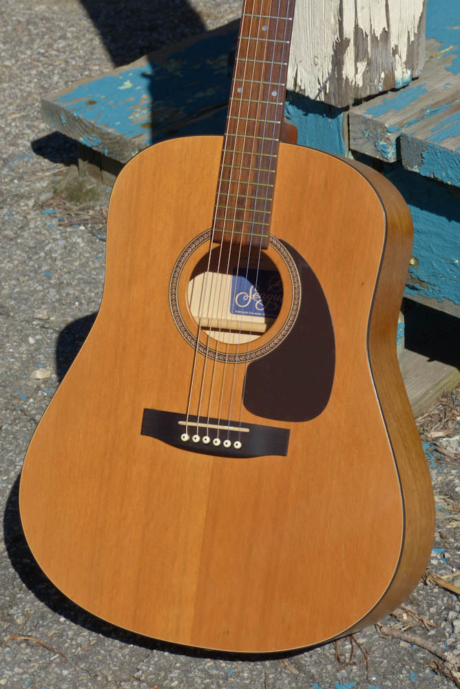 1990s seagull s6 cedar dreadnought guitar. Black Bedroom Furniture Sets. Home Design Ideas