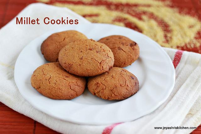 Millet-cookies