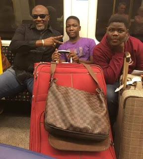 Senator Dino Melaye Shares Vacation Photos With His Children 1