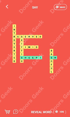 Cheats, Solutions for Level 108  in Wordcross by Apprope