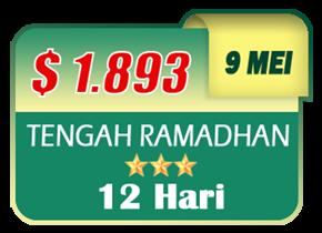 paket umroh tengah ramadhan 2019