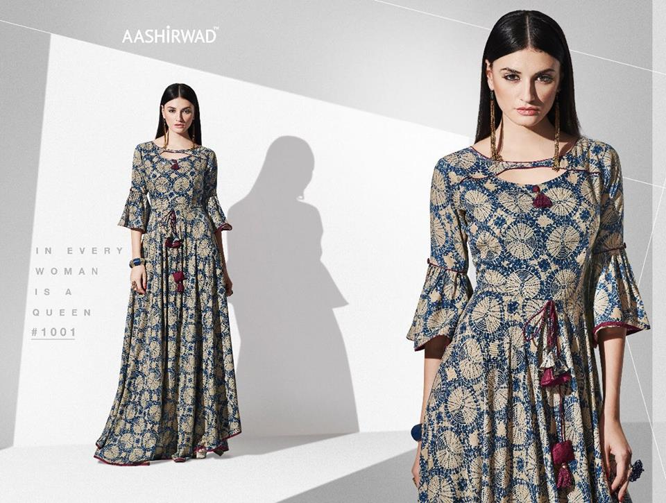 Latest Indian Long Kurti Designs Trends 2018