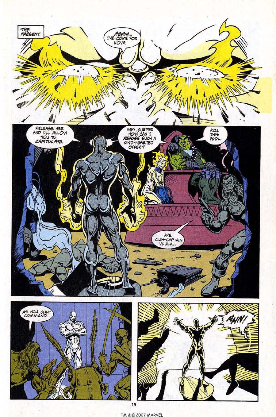 Read online Silver Surfer (1987) comic -  Issue #99 - 21