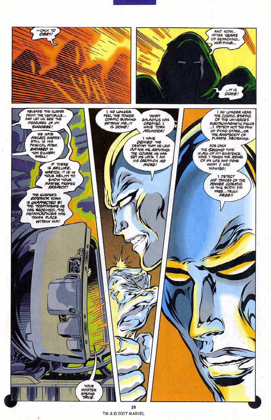 Read online Silver Surfer (1987) comic -  Issue #106 - 31