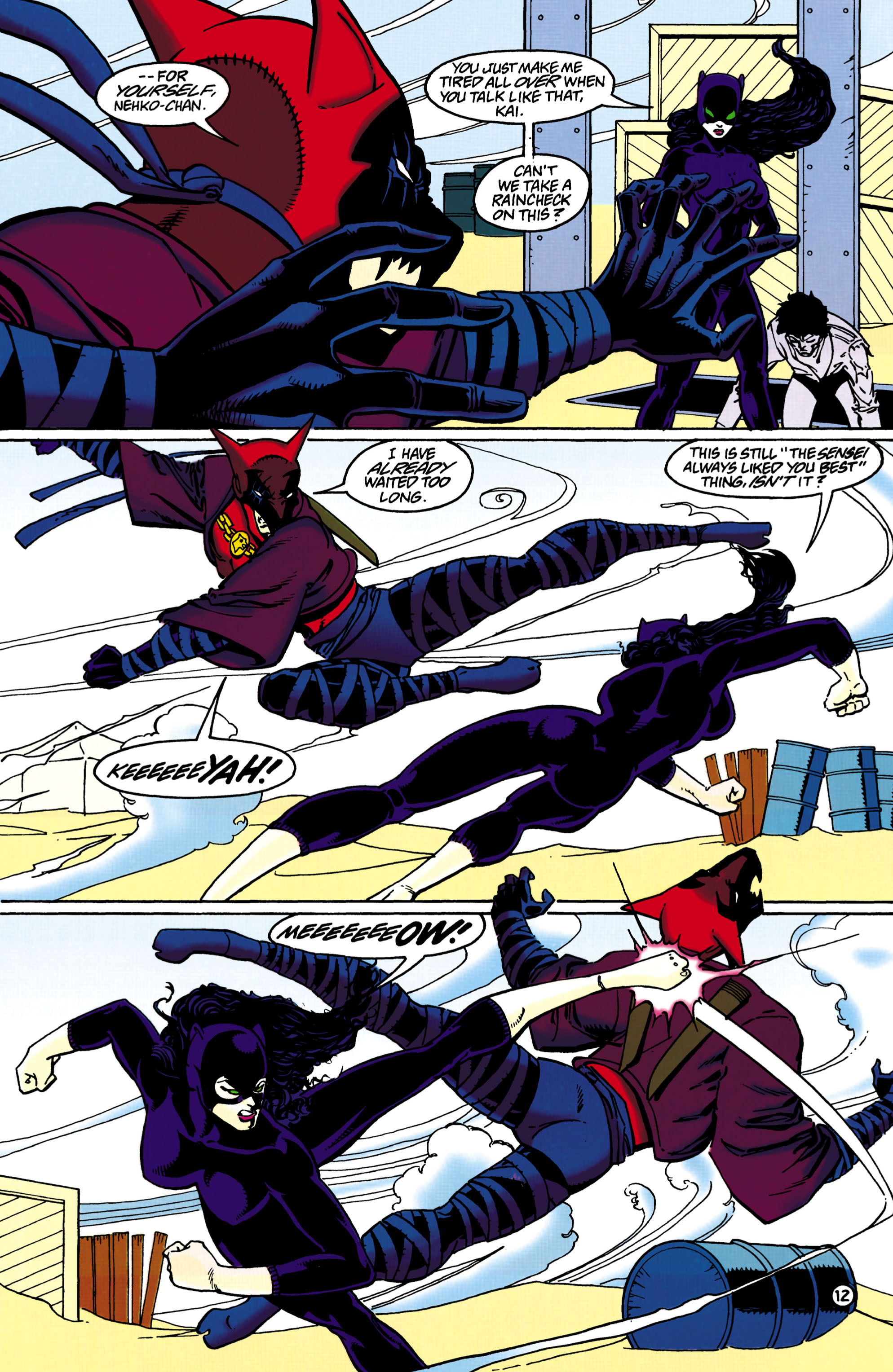 Catwoman (1993) Issue #36 #41 - English 13