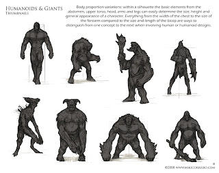 Character and Creature Design Notes: The use of
