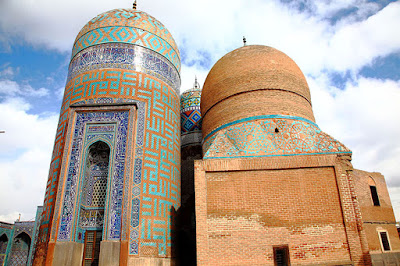 Shrine of Safi-ad-din Ardabili Built between the beginning of the 16th and the end of the 18th century, this tomb contains amazing ornamentations contributed by great masters making it a historical and cultural glory of Iranian architecture even after several centuries.