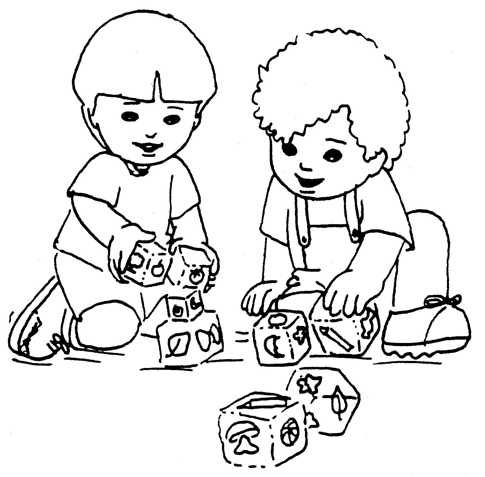 Escola Dominical Infantil: Atividade para colorir