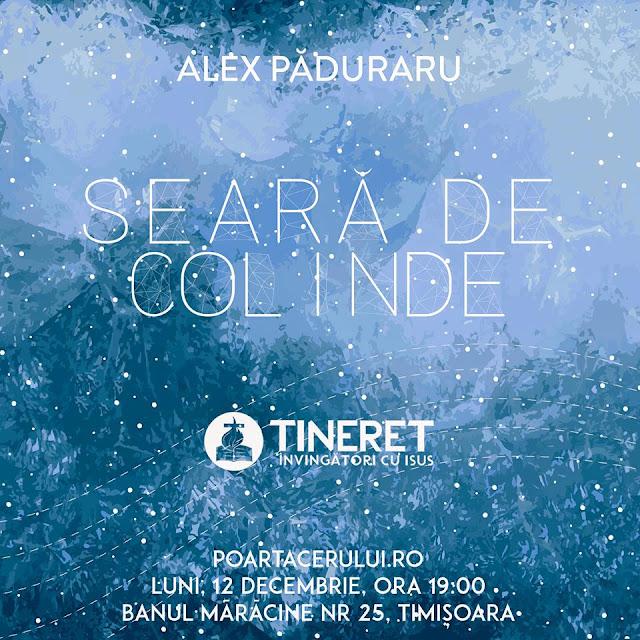 Seara de Colinde la Poarta Cerului Timisoara - 12 Decembrie 2016