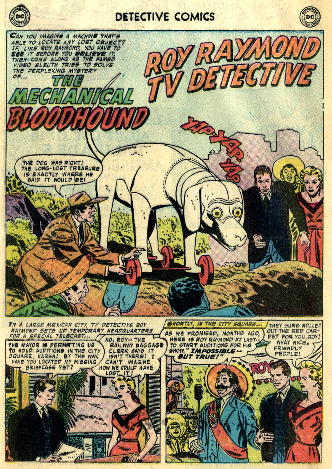 Read online Detective Comics (1937) comic -  Issue #247 - 18