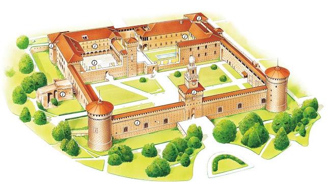 Tudo sobre o Castelo Sforzesco em Milão