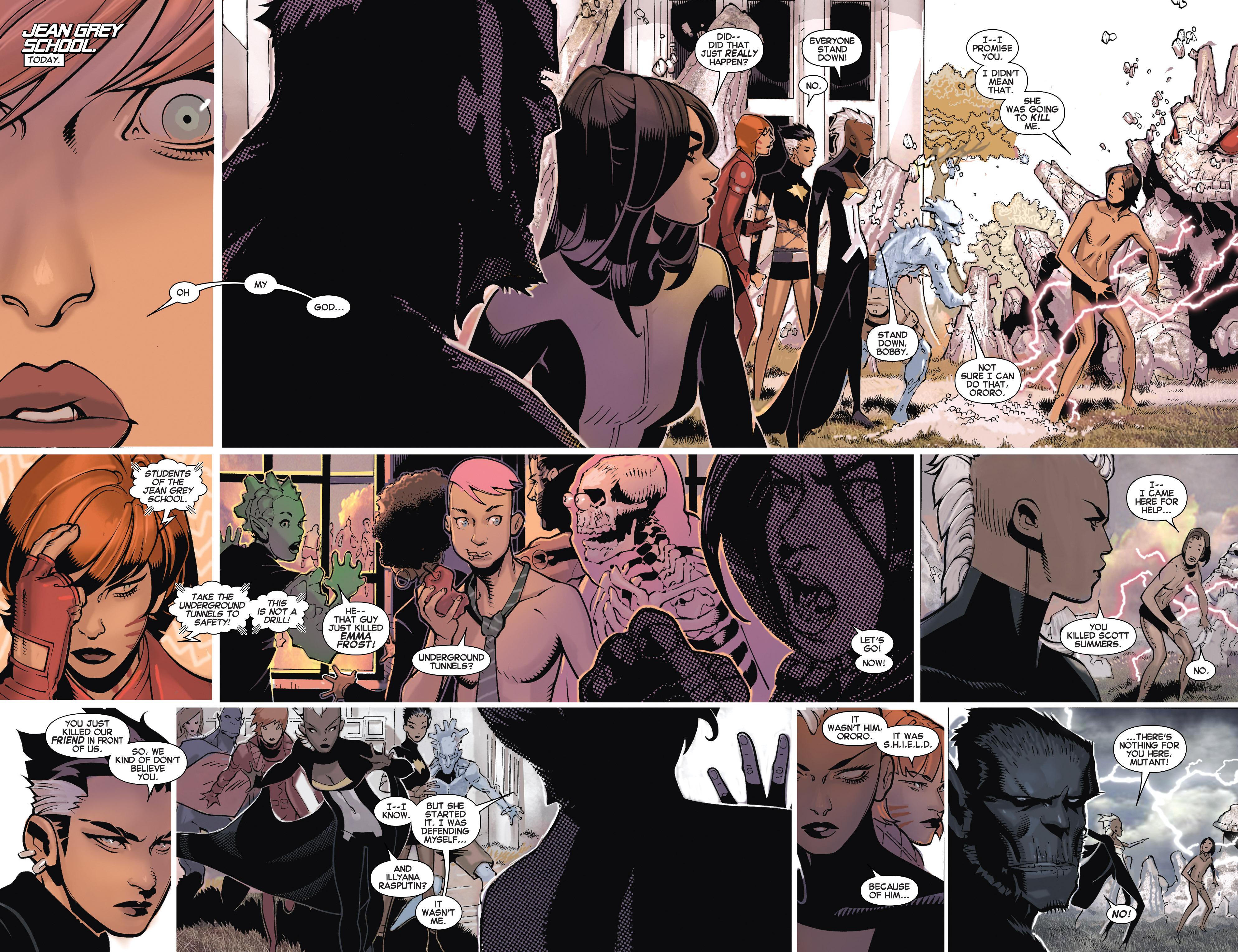 Read online Uncanny X-Men (2013) comic -  Issue # _TPB 5 - The Omega Mutant - 99