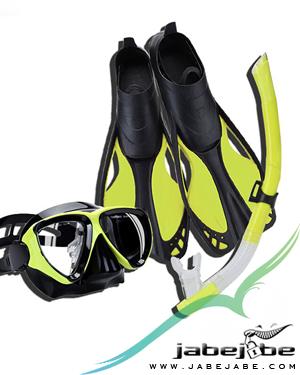 Sewa Snorkel Gear Fins Belitung